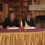 Підписання угоди про співробітництво ЗБ БУВР - РУВГ